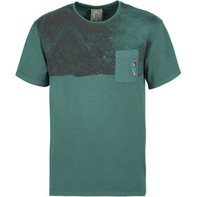 E9 Stripe-9 T-shirt Heren, sage green